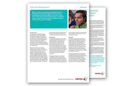 xerox case study summary The taming of 15 workflow processes: xerox as a case study for productive innovation.